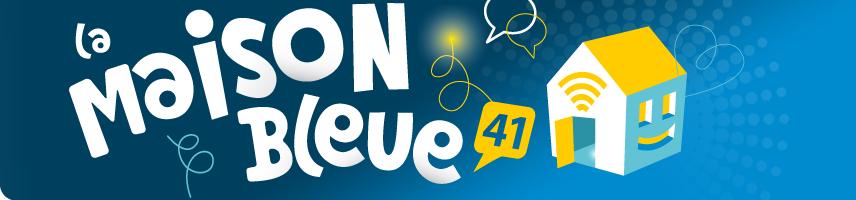 Logo de la Maison Bleue 41